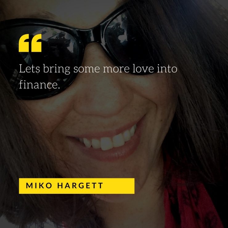 Miko selfie - let's bring more love into finance.